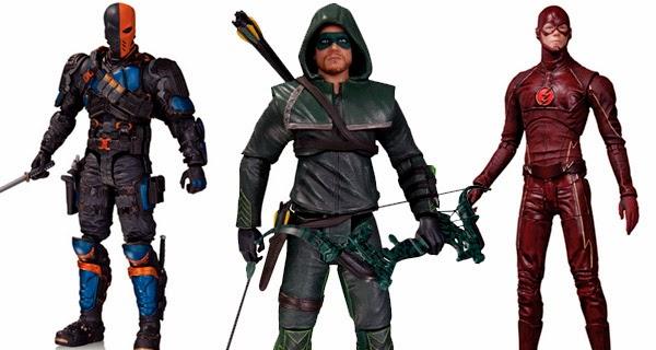 Figuras acción DC Collectibles segunda temporada ARROW