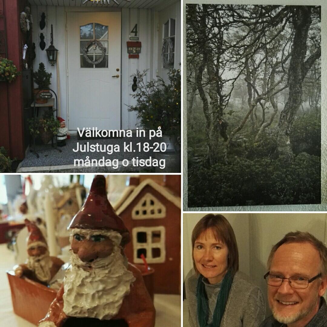 Julstuga hos Lerblomster