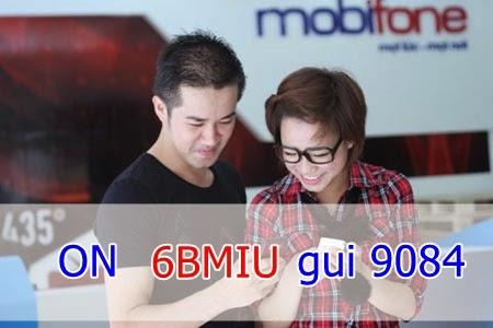 gói 6BMiu của Mobifone