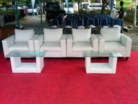 Sofa Puff Chair Warna Putih