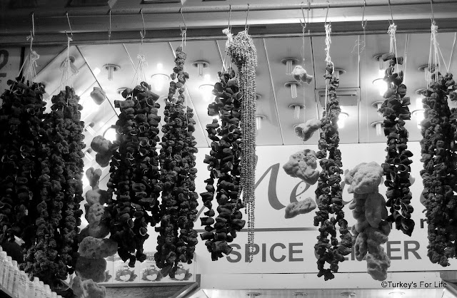 Dried Aubergines & Tomatoes, Istanbul, Egyptian Spice Bazaar