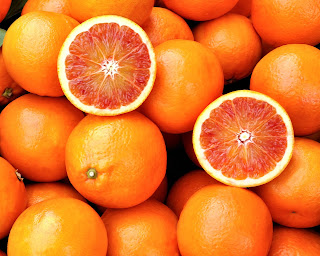 The Vitamin C in oranges could help reduce stress.