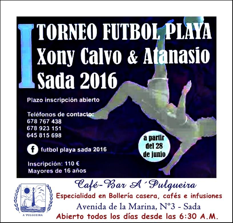 "Torneo Fútbol Playa ""Xoni Calvo & Atanasio"" en Sada"