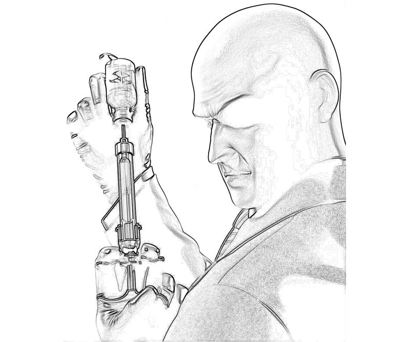 Hitman Absolution Agent 47 Portrait