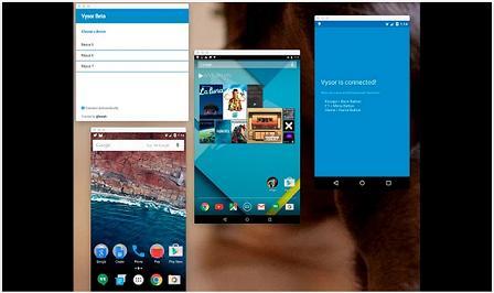 Akses Ponsel Android Melalui Chrome, Berbekal Aplikasi Vysor