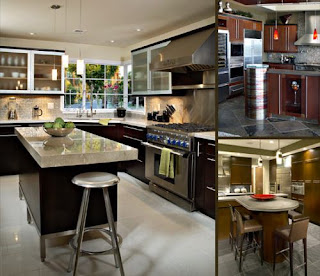 Contemporary kitchen cabinets picture