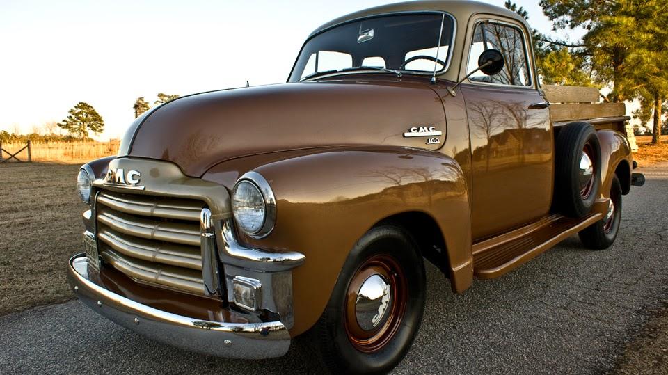 All American Classic Cars: 1954 GMC 100 Pickup Truck