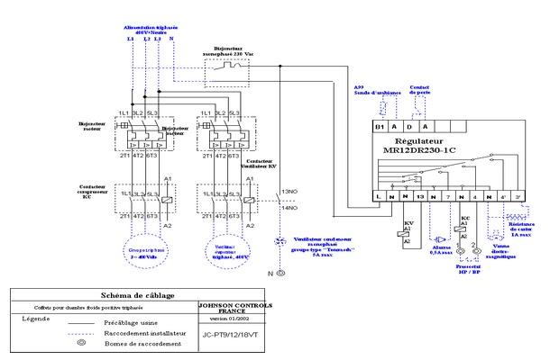 Mars 2011 schema electrique - Schema electrique chambre froide ...
