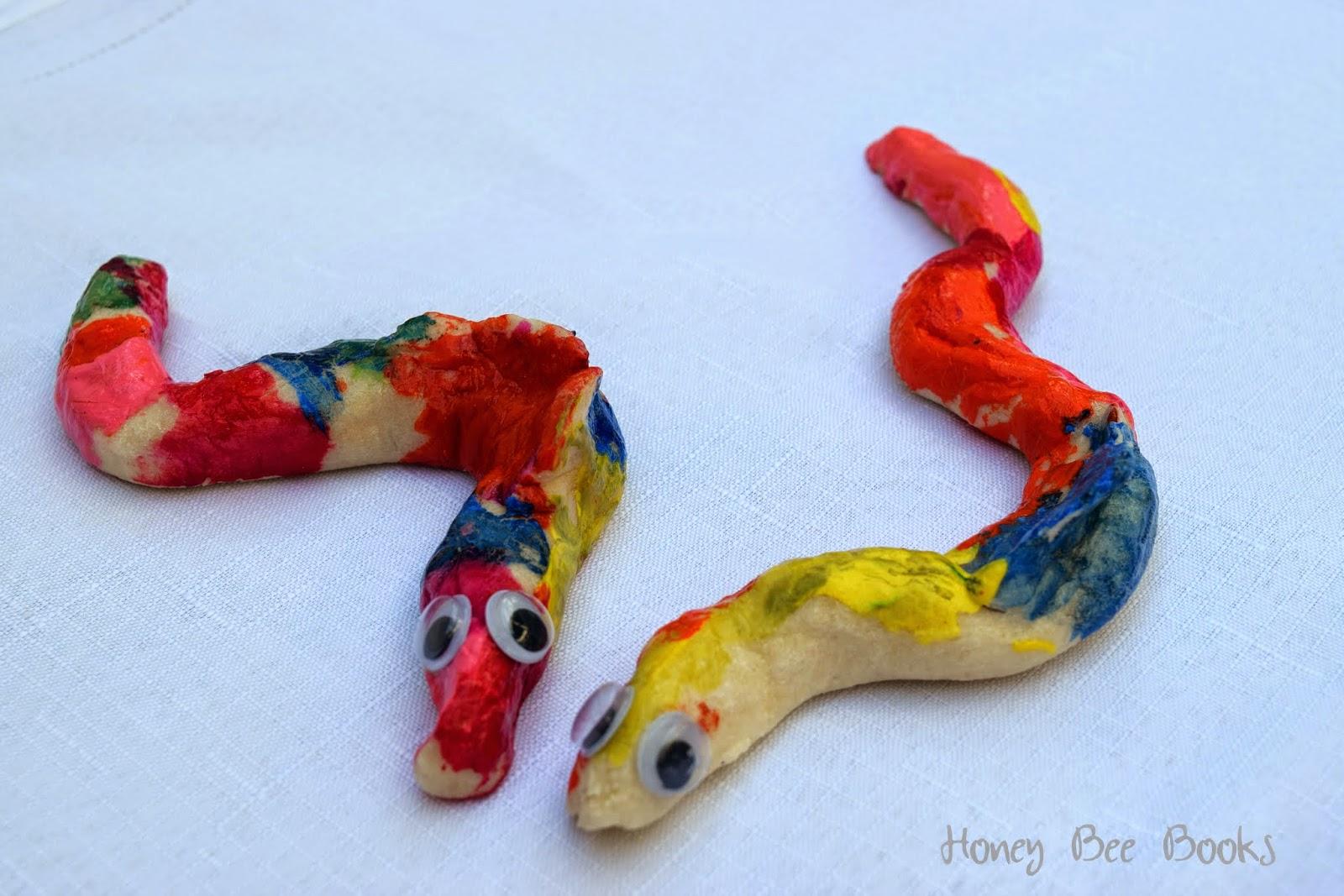 Salt dough eels