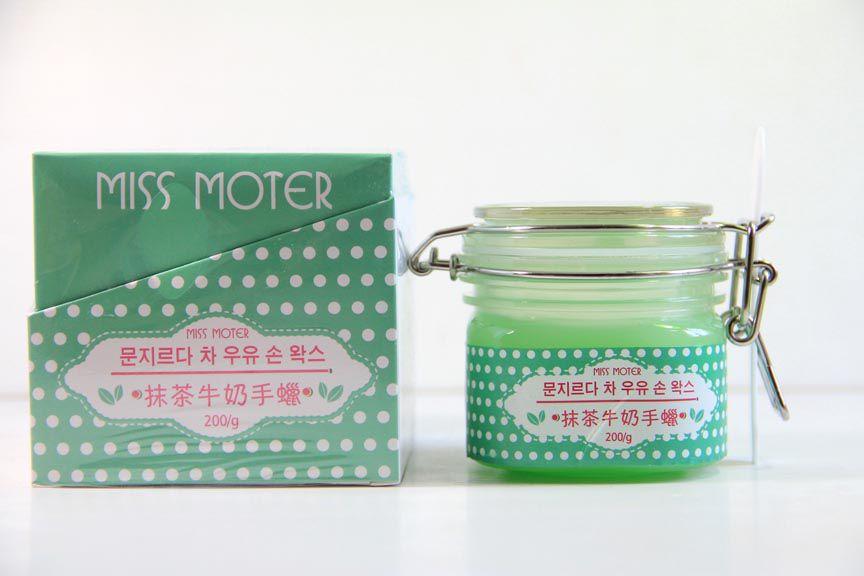 Miss Moter Matcha & Milk Hand Wax