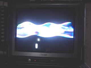 daftar kerusakan tv bagian vertikal
