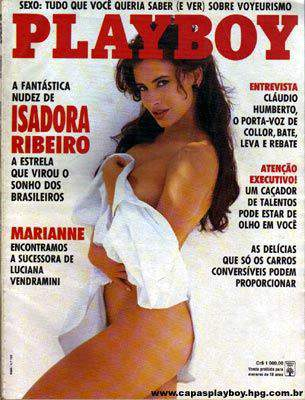 Isadora Ribeiro - Playboy 1991