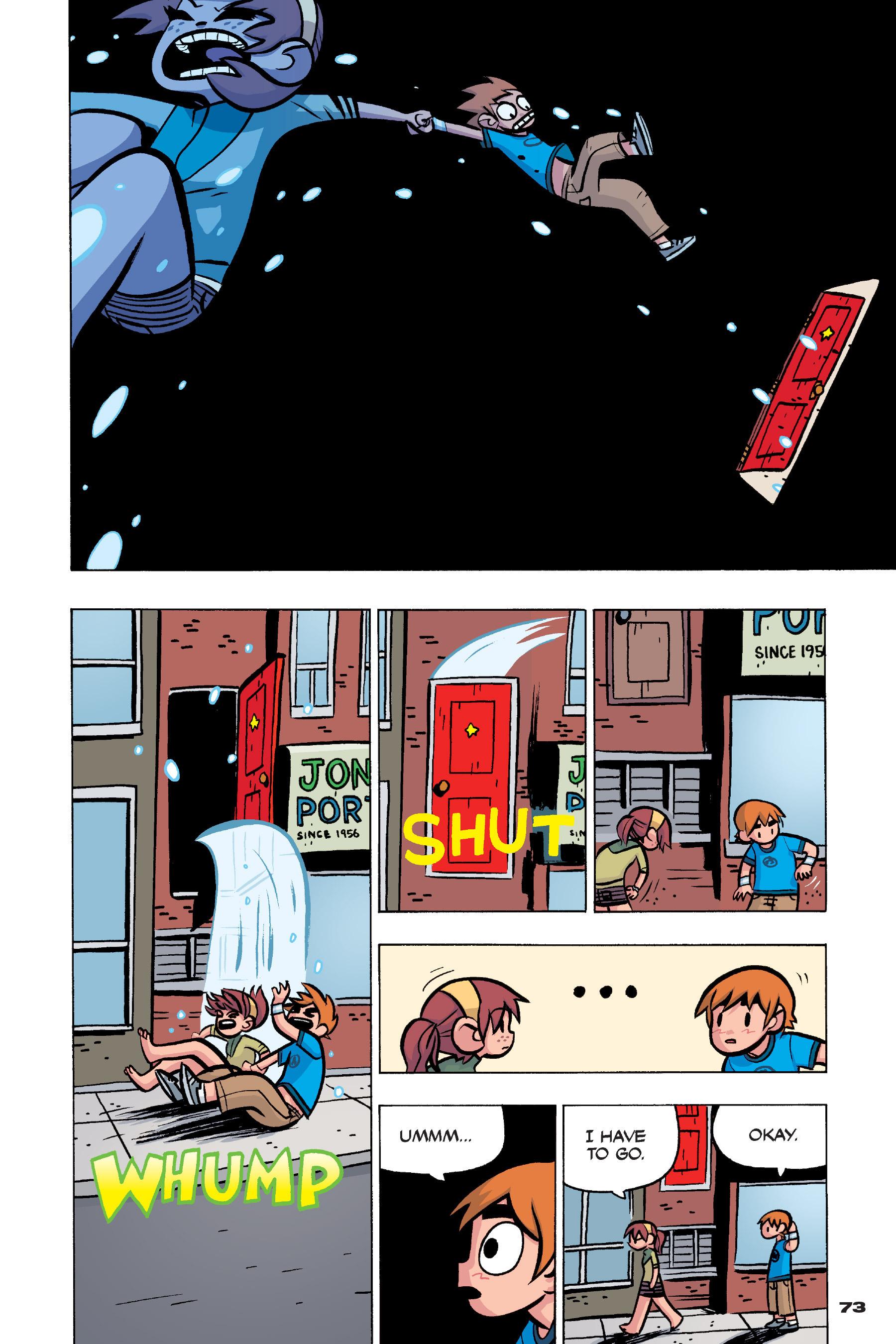 Read online Scott Pilgrim comic -  Issue #4 - 71