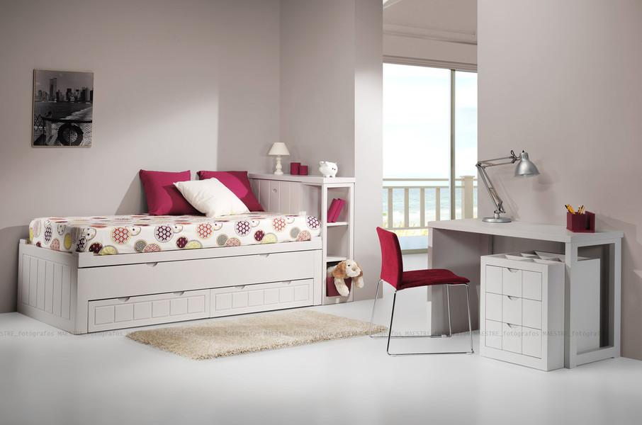 Dormitorios habitaciones juveniles e infantiles lacadas for Muebles juveniles precios