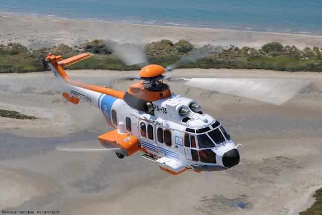 La Prefectura Naval Argentina recibe su primer helicóptero H225