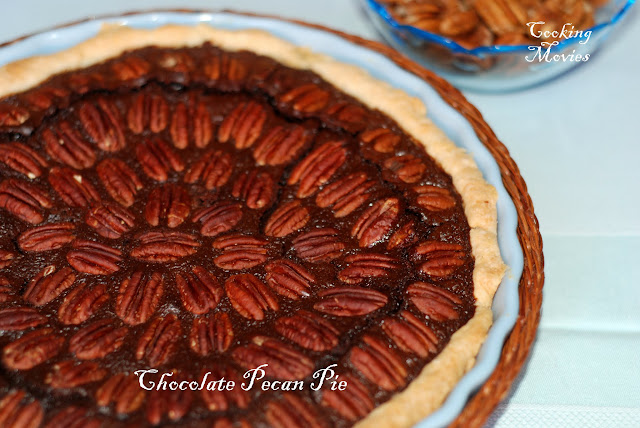 Chocolate Pecan Pie Cooking Movies