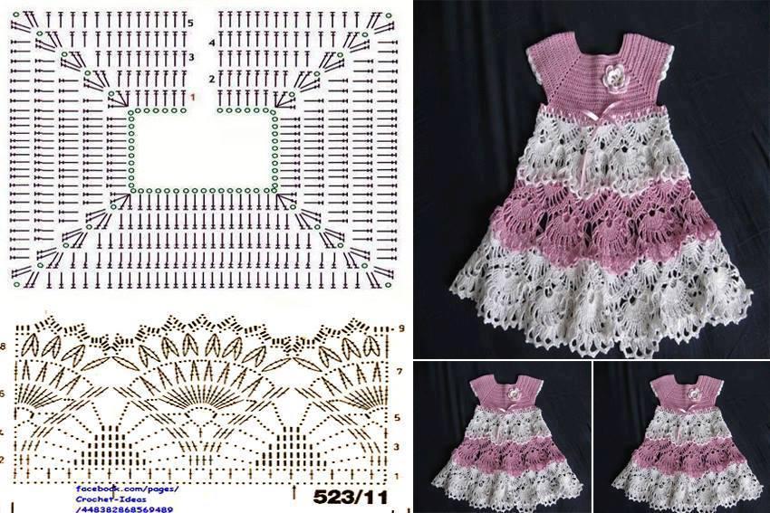 Chaleco Para Nia Tejido A Crochet 2 De 2 | apexwallpapers.com
