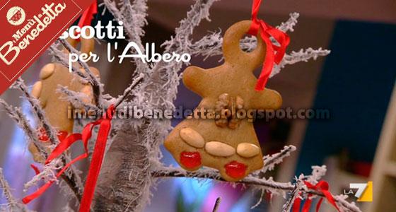 Biscotti Classici Di Natale.Biscotti Per L Albero Di Natale La Ricetta Di Benedetta Parodi