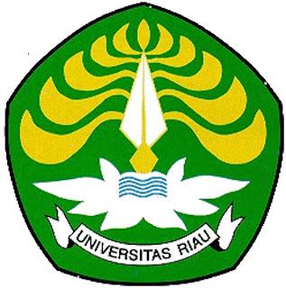 Lambang / Logo Universitas Riau (Hitam Putih) :