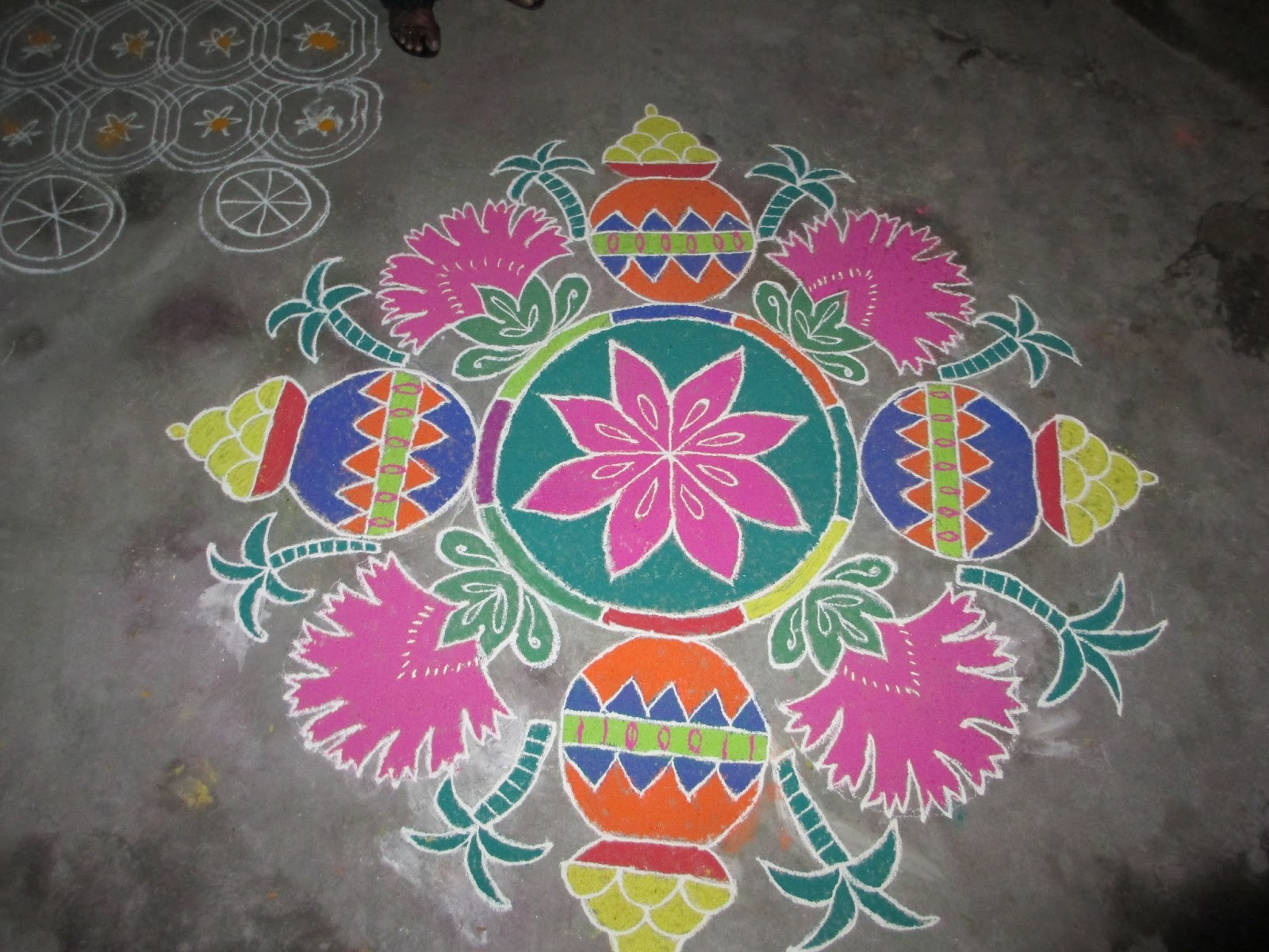 fashion latest rangoli designs