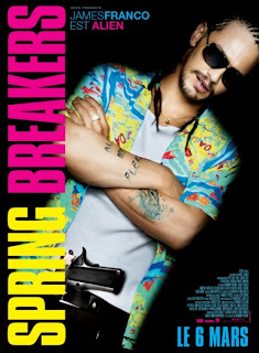 James Franco Spring Breakers Poster