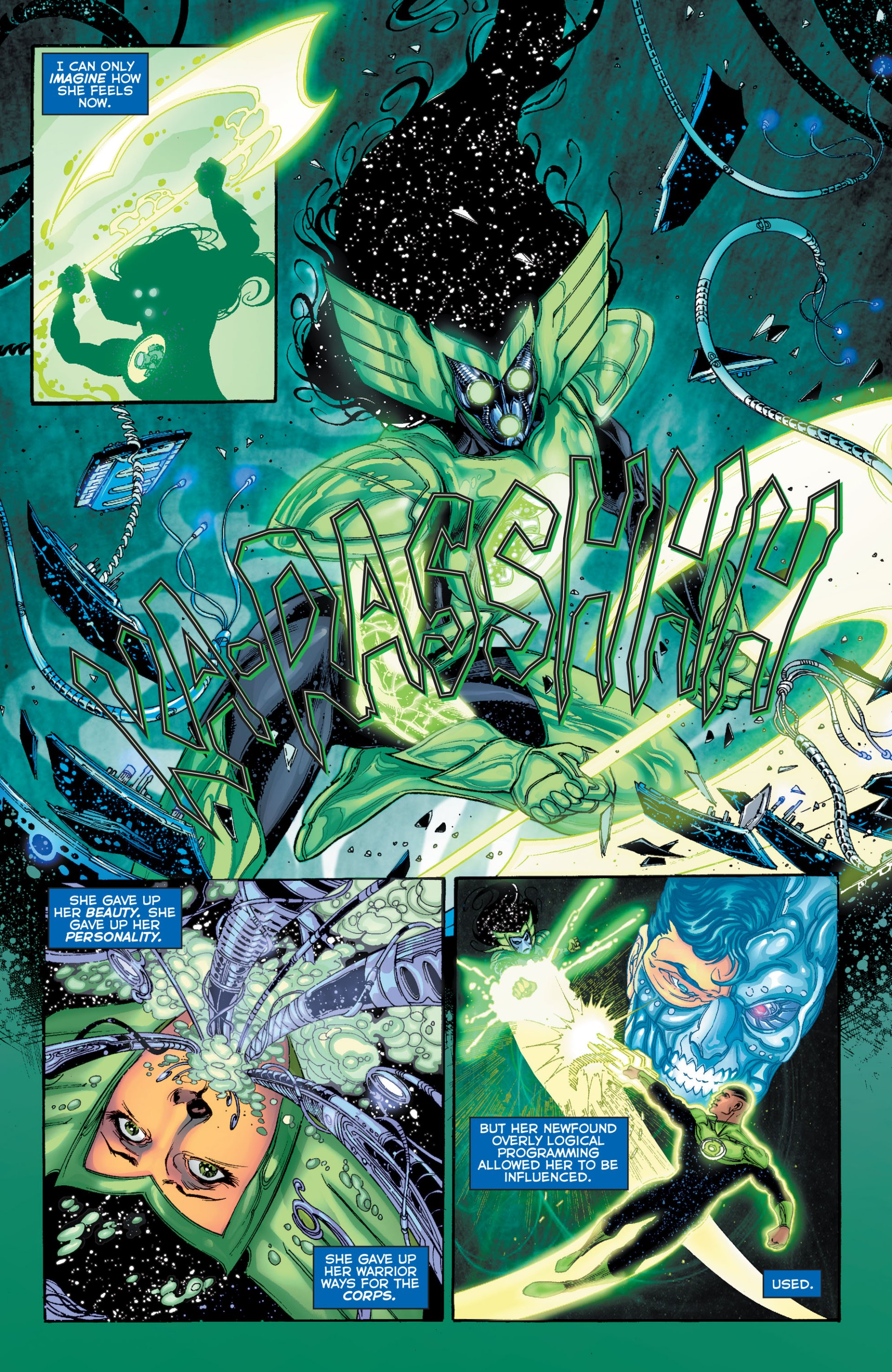 Read online Green Lantern Corps (2006) comic -  Issue #63 - 5