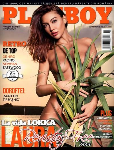 Playboy Romania - Laura Baitoiu - Setembro 2014