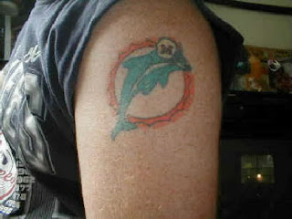 Miami Dolphins Tattoo Design Photo Gallery - Miami Dolphins Tattoo Ideas