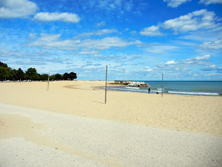 McKinley beach in downtown Milwaukee, Wisconsin