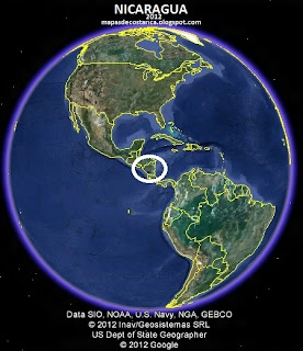 NICARAGUA GOOGLE EARTH (vista diurna) 2012