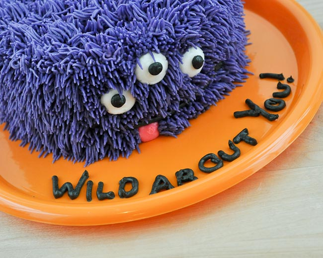 Beki Cooks Cake Blog Wild About You Easy Monster Cake