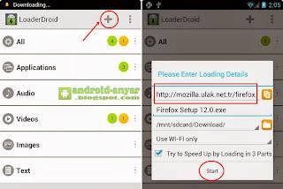 Cara menambah cepat download di HP Android