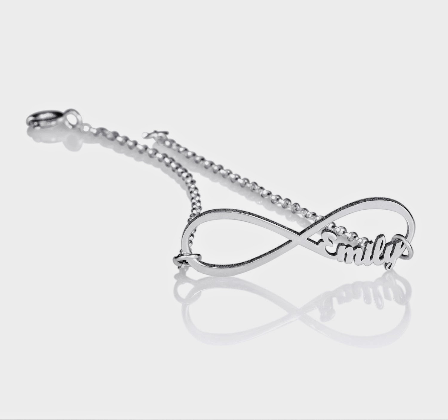 Personalized jewelry the symbol of infinity when two infinity symbols are connected together it forms the beautiful double infinity symbol it is a powerful symbol that carries lots of different buycottarizona Choice Image