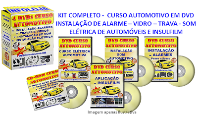 Curso Automotivo em 7 dvds video