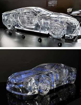 Awesome Transparent Sculptures Seen On www.coolpicturegallery.us
