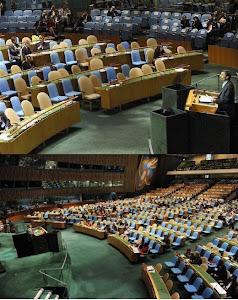 صندلی های سازمان ملل طرفداران سفت وسخت احمدي نژاد..!