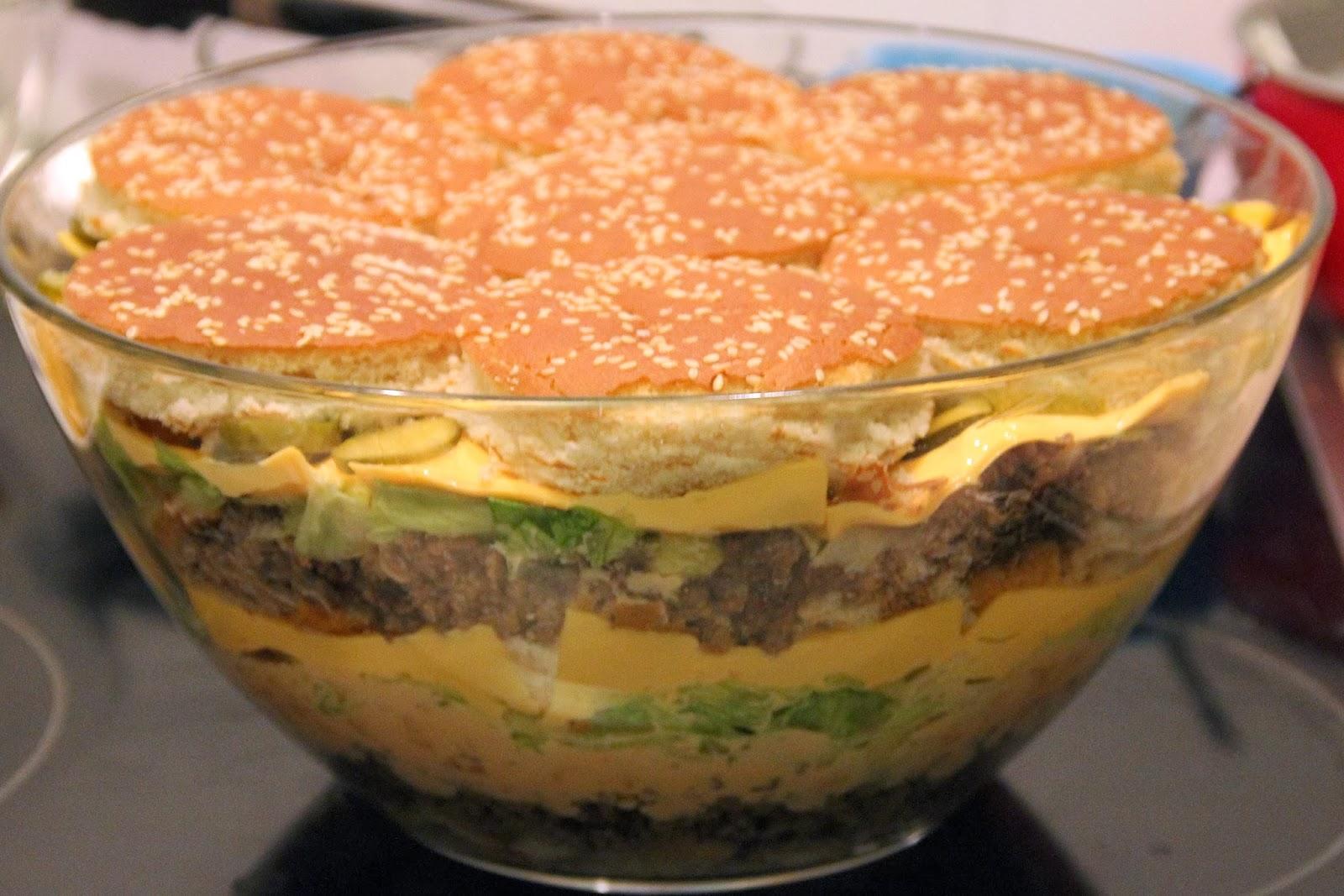 kochen backen randalieren bigmac salat oder schichtsalat ist nicht gleich schichtsalat. Black Bedroom Furniture Sets. Home Design Ideas