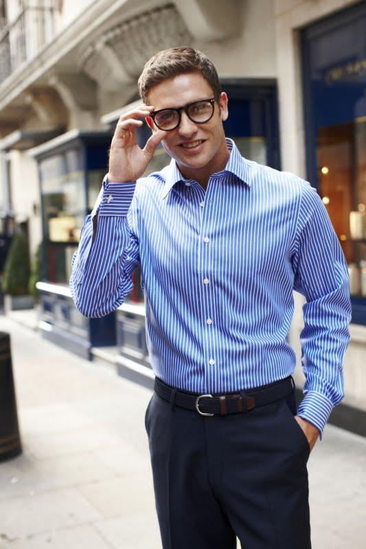 Men 39 s styling summer shirts for the office for Mens dress shirts charles tyrwhitt