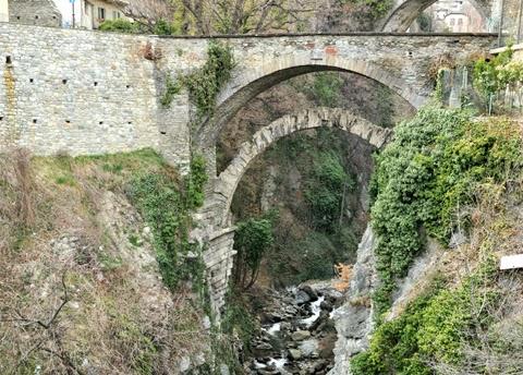 ponte romano Chatillon