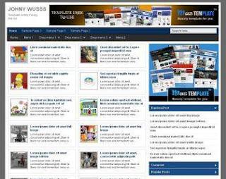 3 Template Blogger SEO Valid HTML5 di 2013