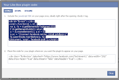 facebook like button html