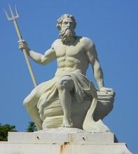 المعبود بوسيدون إله البحر عند اليونانيين