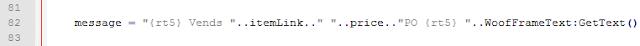 Modification message par défaut addon woof