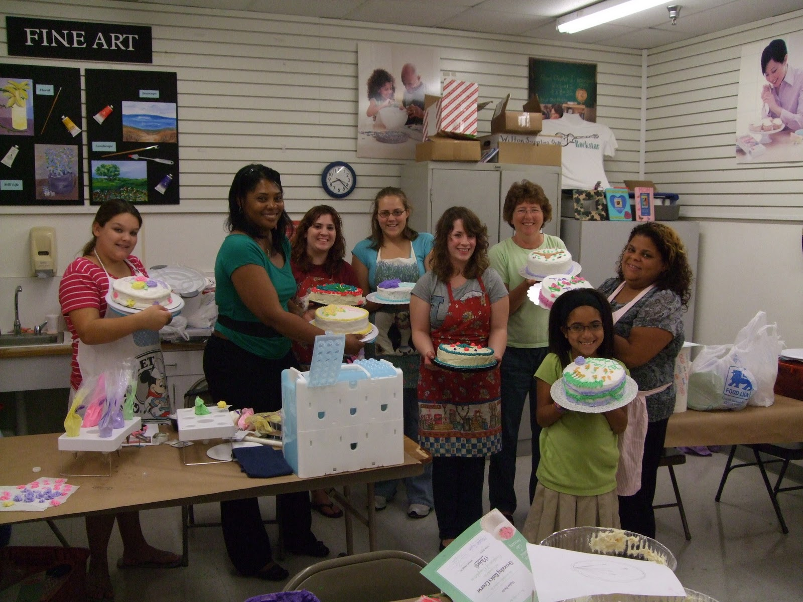 Wilton Cake Decorating Classes Toronto