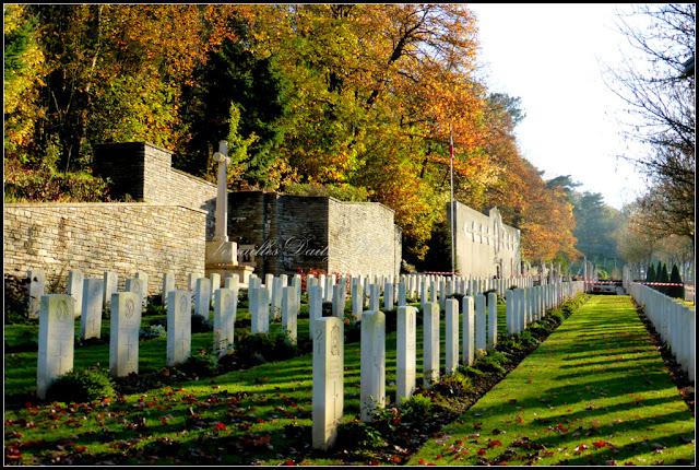 Tombes britanniques British WWI tombs cimetière Gonards Versailles