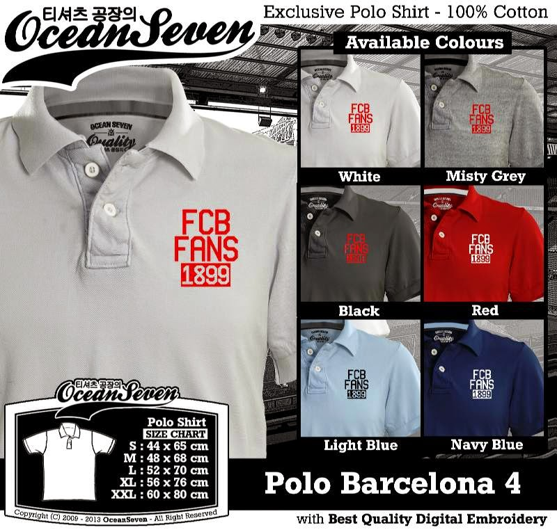 Kaos Polo Barcelona 4