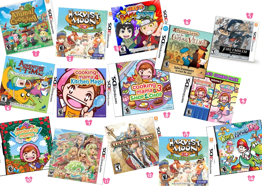 3ds dating games english