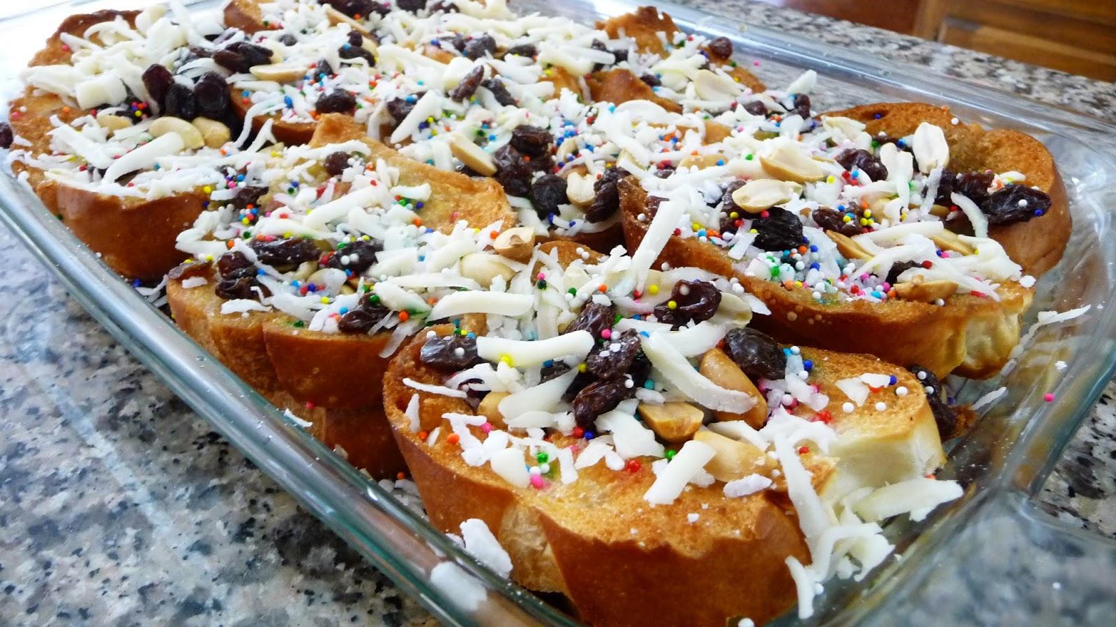 Capirotada Mexican Bread Pudding ~ Easy Cooking