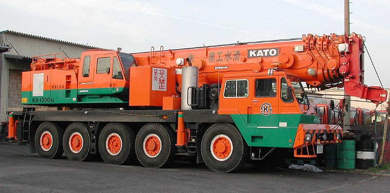 Rough Terrain Crane Wikipedia : Kato ka sl all terrain crane ton cranepedia