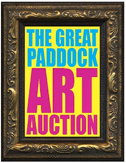The Great Paddock Art Auction takes place on Saturday 7th December 2013 from 6pm
